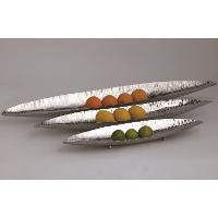 20 Inch Polished Stainless Steel Canoe Platter