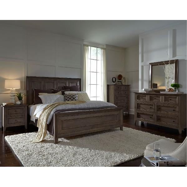 Nice ... Driftwood Classic Shaker 6 Piece Cal King Bedroom Set   Talbot