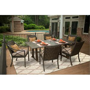... Davenport Collection 5 Piece Patio Dining Table Set ...