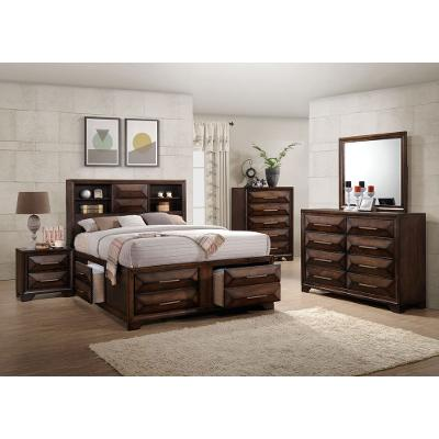 Contemporary Brown 6-Piece Queen Bedroom Set - Anthem | RC Willey ...