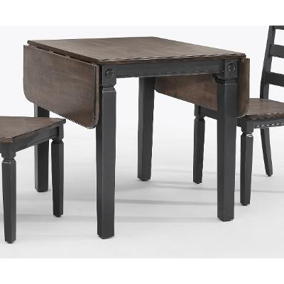Black Drop Leaf Table Glennwood RC Willey Furniture Store