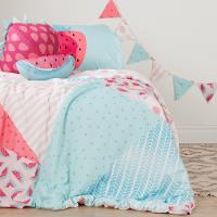 100182 Watermelons and Dots Twin Comforter Set - Dreamit