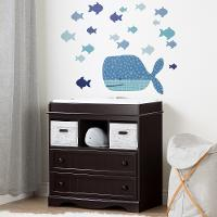 100106 Little Whale Wall Decals - Dreamit