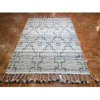 5 x 8 Medium Ivory, Dark Brown and Charcoal Gray Area Rug - Austin
