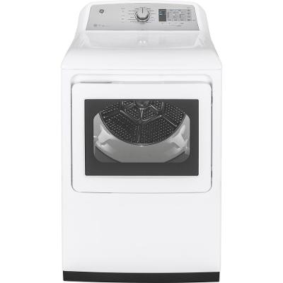 GTD75GCSLWS GE Gas Dryer WiFi Enabled - 7.4 cu. ft. White