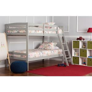 classic gray bunk bed taylor