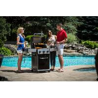 921157 Broil King Baron 320 Natural Gas Grill - Black