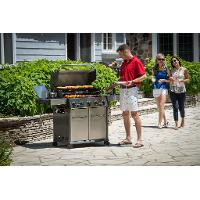 923587 Broil King Baron S590 Natural Gas - Stainless Steel