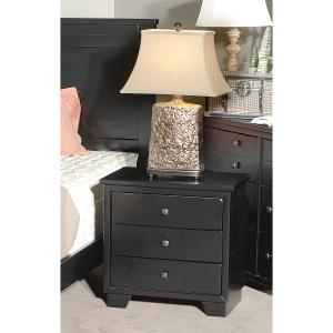 black casual nightstand diego