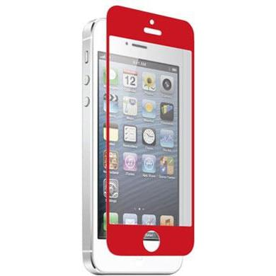 700358618925 Z Nitro Glass Screen Protector for iPhone 5 - Red
