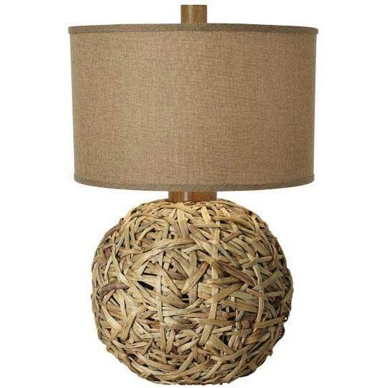 Seagrass Meadow Woven Table Lamp