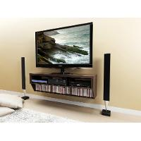 Espresso Wall Mounted A/V Console (58 Inch) - Series 9