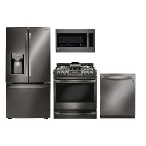 LG Collection 4 Piece Kitchen Appliance Package   Diamond | RC Willey  Furniture Store